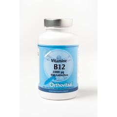 Orthovitaal Vitamine B12 1000 mcg (100 tabletten)