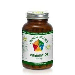 Essential Organ Vitamine D3 15 mcg (90 tabletten)