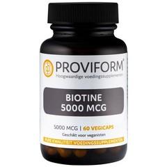 Proviform Biotine 5000 mcg (60 vcaps)