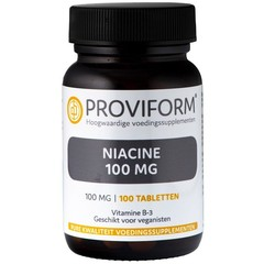 Proviform Vitamine B3 niacine 100 mg (100 tabletten)