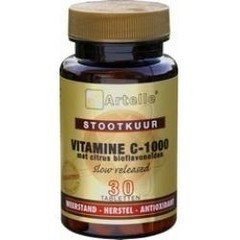 Artelle Vitamine C 1000 stootkuur (30 tabletten)