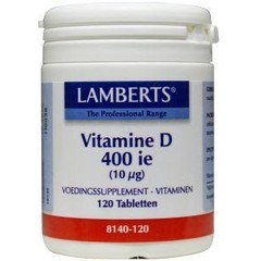 Lamberts Vitamine D 400IE 10 mcg (120 tabletten)