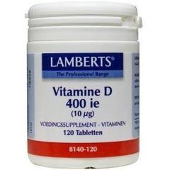 Lamberts Vitamine D 400IE 10 mcg (120 tabletten)