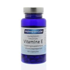 Nova Vitae Vitamine E 200IU (60 capsules)