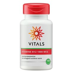 Vitals Vitamine B12 methyl 1000 mcg (100 zuigtabletten)
