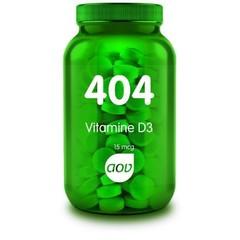 AOV 404 Vitamine D3 15 mcg (60 tabletten)