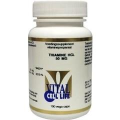 Vital Cell Life Thiamine HCL 50 mg (100 capsules)