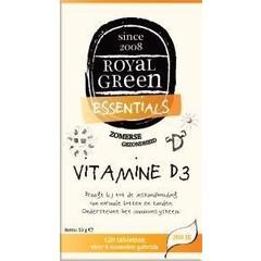 Royal Green Vitamine D3 (120 tabletten)