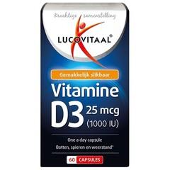 Lucovitaal Vitamine D3 25 mcg (60 capsules)