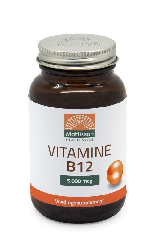 Mattisson Mattisson Vitamine B12 5000 mcg (60 tabletten)