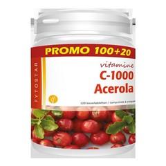 Fytostar Acerola vitamine C 1000 (100+20 zuigtabletten)
