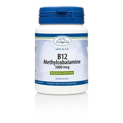 Vitakruid B12 Methylcobalamine 5000 mcg (60 tabletten)
