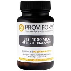Proviform Vitamine B12 1000 mcg methylcobalamine (90 zuigtabletten)
