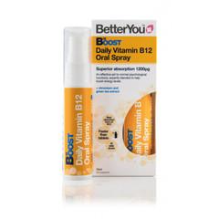 Betteryou Boost daily vitamine B12 oral spray (25 ml)