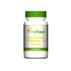 Elvitaal Vitamine D3 1000IE vegan (120 tabletten)