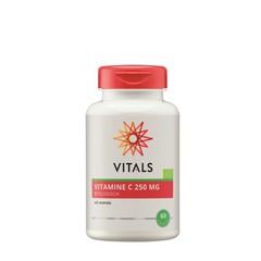 Vitals Vitamine C 250 mg biologisch (60 capsules)