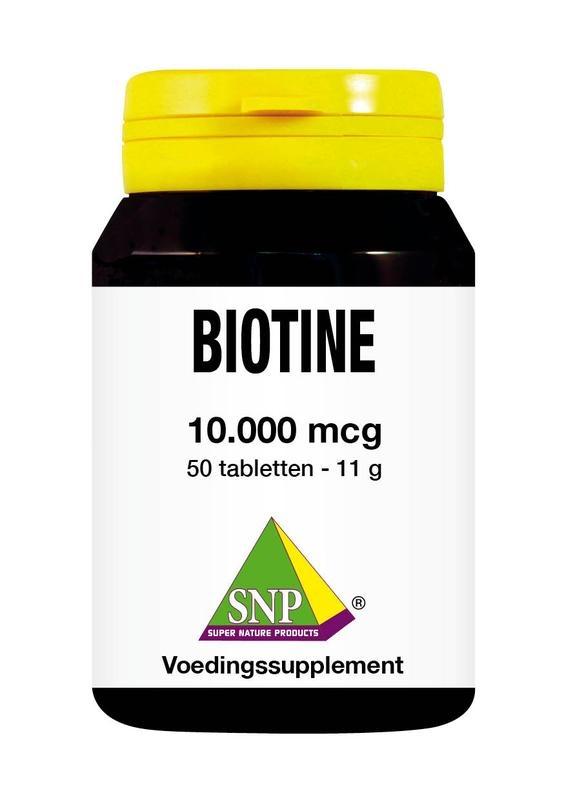 SNP SNP Biotine 10000 mcg (50 tabletten)