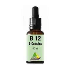 SNP Vitamine B12 B complex sublingual (60 ml)