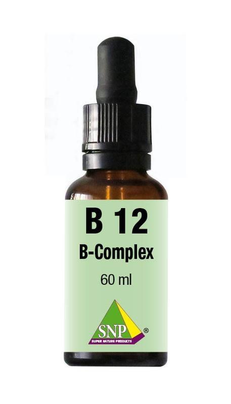 SNP SNP Vitamine B12 B complex sublingual (60 ml)