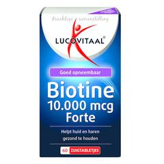 Lucovitaal Biotine forte (60 zuigtabletten)
