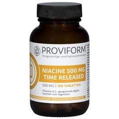Proviform Vitamine B3 niacine 500 mg TR (100 tabletten)