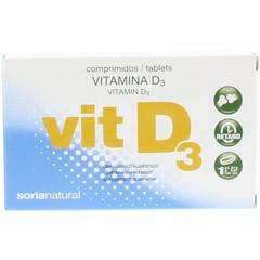 Soria Vitamine D retard 5 mcg (48 tabletten)