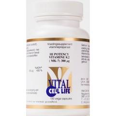 Vital Cell Life Vitamin K2 300 mcg hi potency (100 capsules)