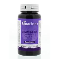 Sanopharm Vitamine B3 niacinamide 50 mg (60 tabletten)