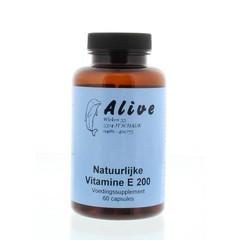 Alive Vitamine E 200 (60 capsules)