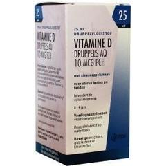 Pharmachemie Vitamine D AQ druppels 10 mcg (25 ml)