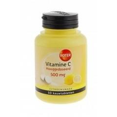 Roter Vitamine C 500 mg citroen (50 kauwtabletten)