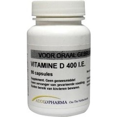 Added Pharma Vitamine d 400ie los (90 capsules)