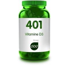 AOV 401 Vitamine D 10 mcg (60 capsules)