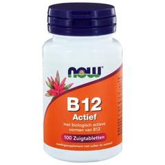 NOW Vitamine B12 actief (100 zuigtabletten)