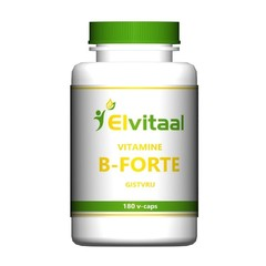 Elvitaal Vitamine B-forte gistvrij (180 vcaps)