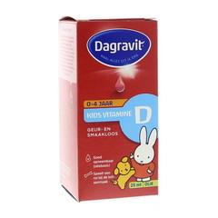 Dagravit Kids vitamine D druppels oliebasis (25 ml)