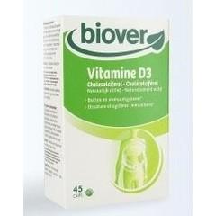 Biover Vitamine D3 (45 capsules)
