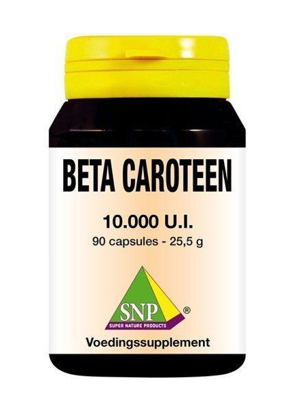 SNP SNP Beta Caroteen 10.000 U.I. (90 capsules)