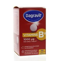 Dagravit Vitamine B12 1000 mcg smelt (100 tabletten)