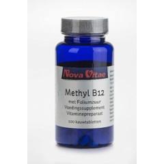 Nova Vitae Methyl B12 foliumzuur (100 kauwtabletten)
