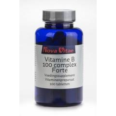 Nova Vitae Vit B100 complex (100 tabletten)