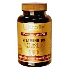 Artelle Vitamine D3 75 mcg (250 capsules)