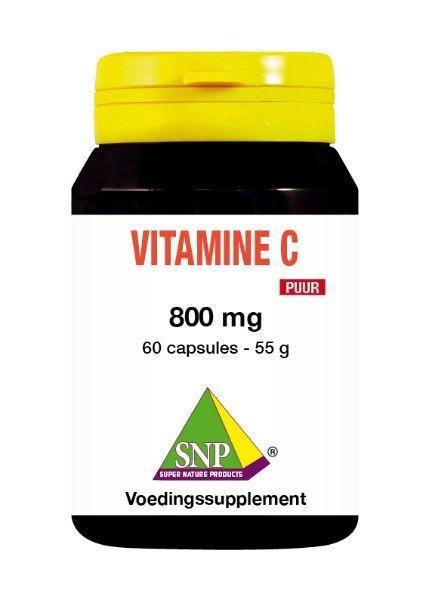 SNP SNP Vitamine C 800 mg puur (60 capsules)