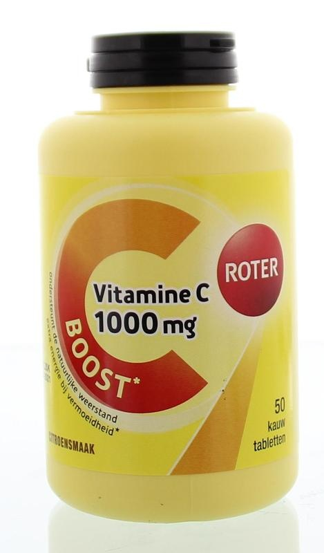Roter Roter Vitamine C 1000 mg (50 kauwtabletten)