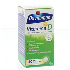 Davitamon D kind smelttablet (150 tabletten)