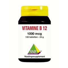 SNP Vitamine B12 1000 mcg (100 tabletten)