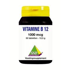 SNP Vitamine B12 1000 mcg (50 tabletten)