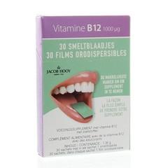 Jacob Hooy Vitamine B12 1000 mcg smeltblaadjes (30 stuks)