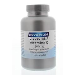 Nova Vitae Liposomaal vitamine C capsules (120 vcaps)