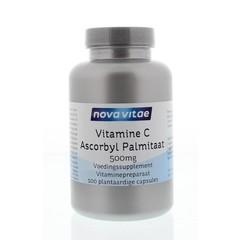 Nova Vitae Vitamine C ascorbyl palmitaat 500 mg (100 vcaps)